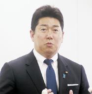 福田市長、再選出馬を表明