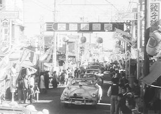 サイトでは川崎の歴史を感じさせる映像を見ることができる