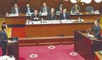 黒岩知事と予算委員会で論戦
