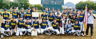 2連覇を達成した川崎ドリームの選手たち