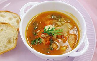 前回グランプリの「小腹すいた!おいCみやまスープ」