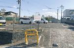 平成14年確保の12台分の駐車場