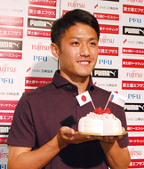 大島選手が日本代表に