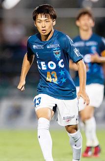 活躍が期待される斉藤選手(写真提供/横浜FC)
