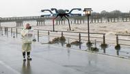 洪水対策、ドローン活用へ