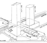 鷺沼駅前再開発で530戸の超高層大型マンション計画