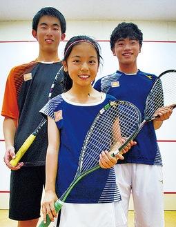 左から安藤さん、西尾さん、安成さん