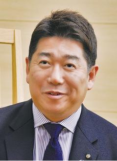 今年の抱負を語る福田市長
