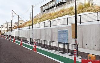 新たに開設された駐輪場