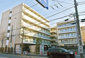 竣工予定のカレッジコート宮崎台