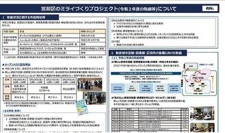 会議の議事録などは、市ウェブサイトで確認することができる