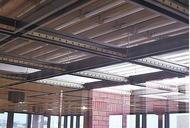 区役所で天井補強工事
