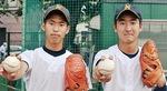 丹羽主将(右)と中川さん