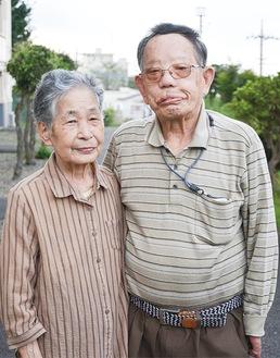 苦楽を共に歩んできた石山さん夫婦