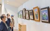 共用施設でアート展