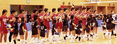 小中学生プロの試合サポート