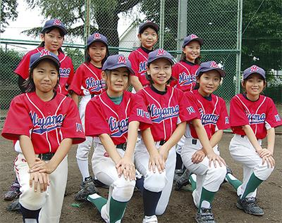 女子だって野球大好き
