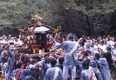 菅生神社の例大祭