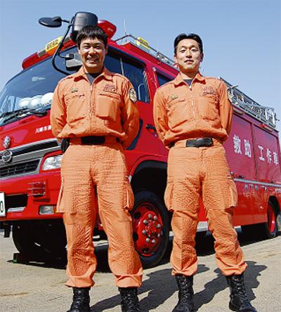 世界で救助活動