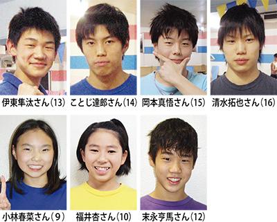 JOC(ジュニアオリンピックカップ)に7名が挑戦