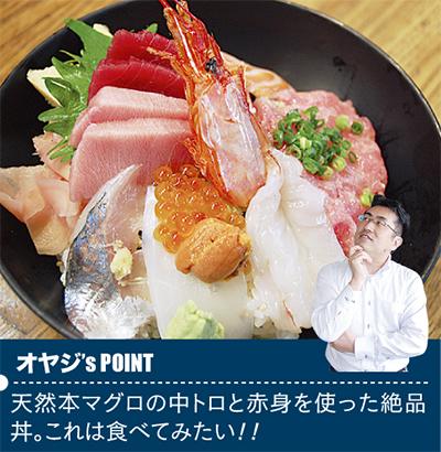 天然本マグロの海鮮丼