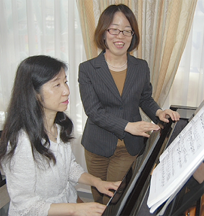 マダムのためのピアノレッスン