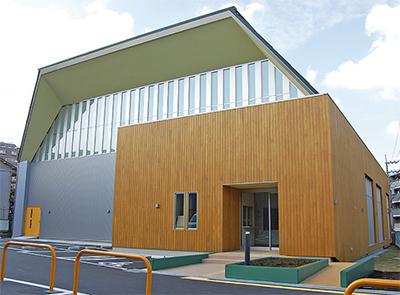 体育館「宮山スポーツプラザ」が10月25日オープン