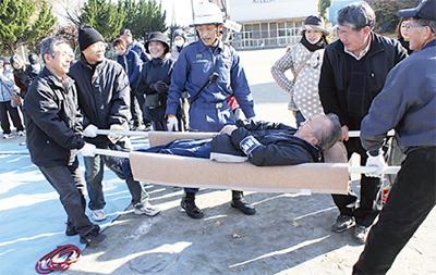 命を守れ、防災訓練