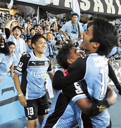 川崎FACL(アジア・チャンピオンズリーグ)出場決める