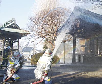 「文化財を火災から守れ」