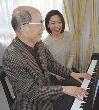 70歳からのピアノレッスン