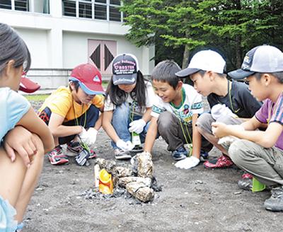 夏の大自然キャンプ