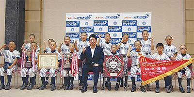 福田市長を表敬訪問