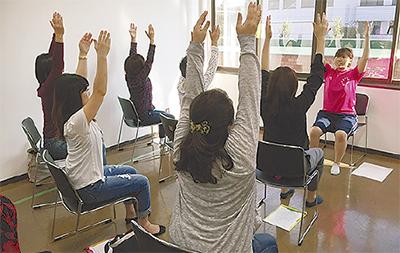 地域貢献の健康講座開く