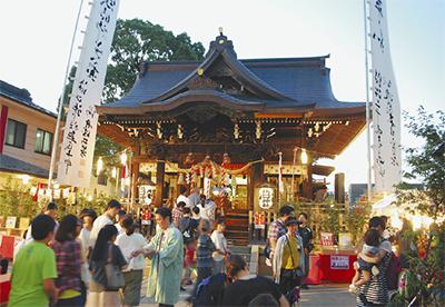 初詣は溝口神社へ