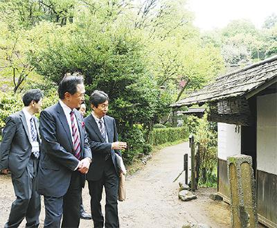 「生田緑地を観光拠点に」
