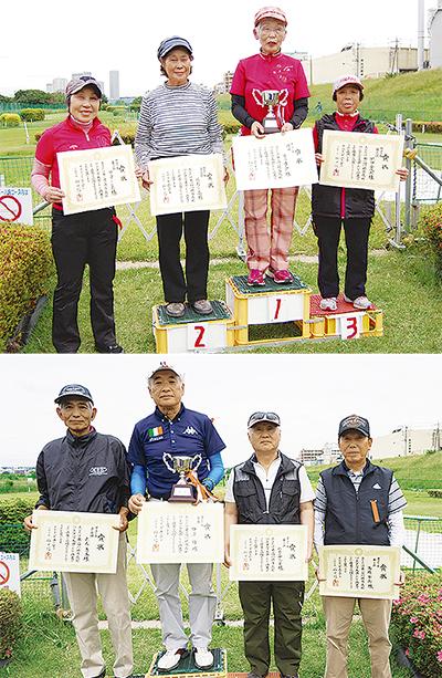 優勝は市川さんと田澤さん