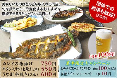 天ぷら屋の絶品肴で今宵も一杯
