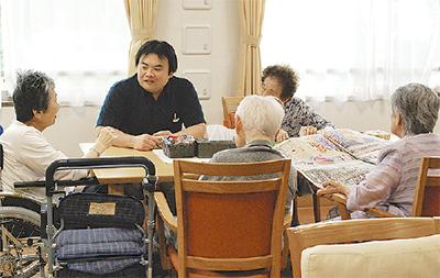 介護職の現場を体感する