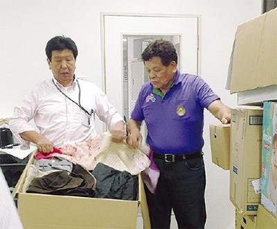 台風10号被災者を支援