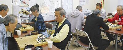 囲碁で交流続けて10年