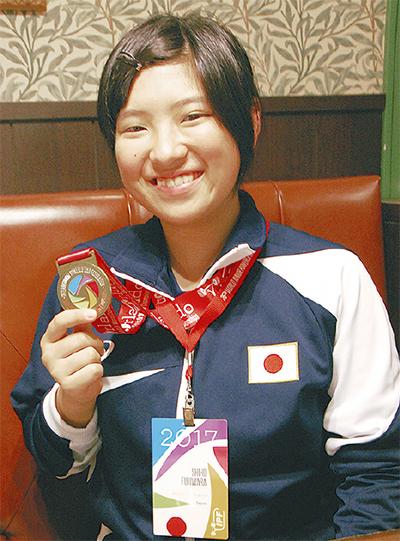 14歳で日本代表、世界戦