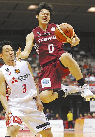 29日、17得点を挙げた藤井選手
