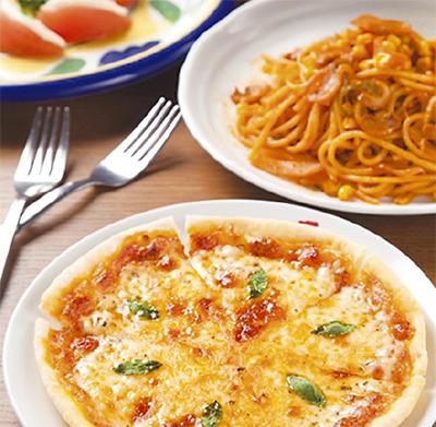 心地良いテラスと美味イタリアン