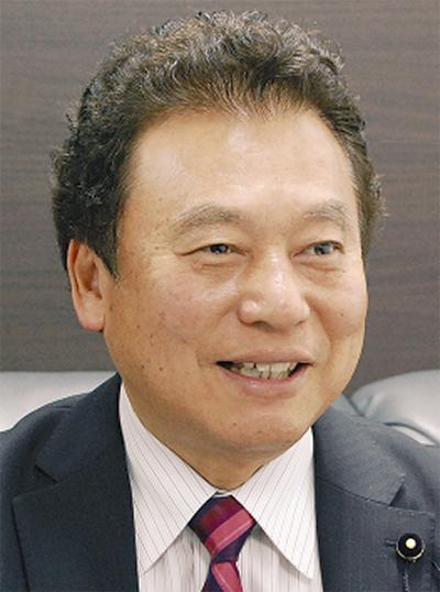 持田県議、新春の集い
