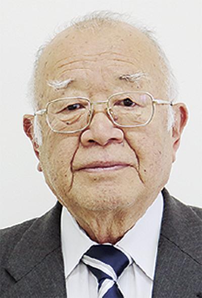 鈴木さんに自治功労賞