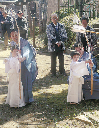 豊作・繁栄願う初卯祭