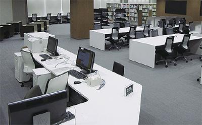 KSPに県立川崎図書館