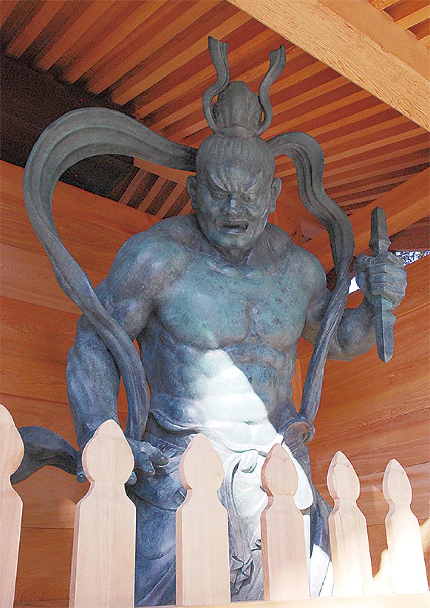 影向寺に新たな守り神