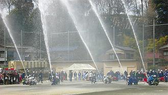 橘地区で毎年恒例の行事(写真は昨年)